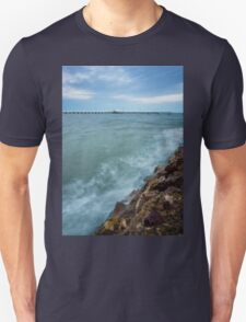 Shorncliffe Pier at High Tide T-Shirt