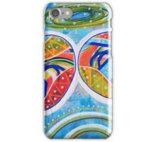 Modern Day Angelic Joy: Inner Power Painting iPhone Case/Skin