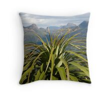 Pandani at Mt Achilles Throw Pillow