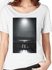 Full Moon Over Bramble Bay Women's Relaxed Fit T-Shirt