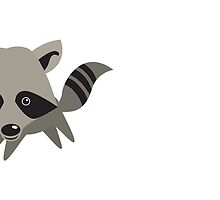 little kawaii Racoon by jazzydevil
