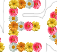 Floral AEPhi Sticker