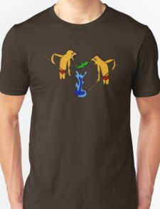 Dreamtime hunting Unisex T-Shirt