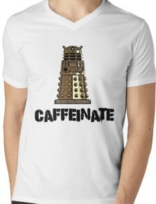 Iskybibblle Products /Dalek Coffee Mens V-Neck T-Shirt