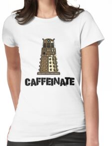 Iskybibblle Products /Dalek Coffee Womens Fitted T-Shirt