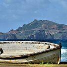 Retired Long Boat - Kingston Norfolk Island by Bev Woodman