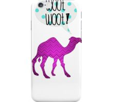 Woot Woot Camel iPhone Case/Skin