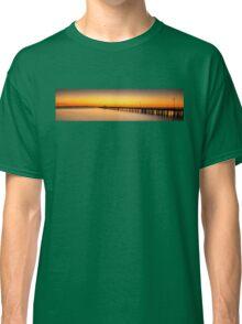 Shorncliffe Pier Silhouette Classic T-Shirt