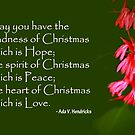 the heart of Christmas by lensbaby