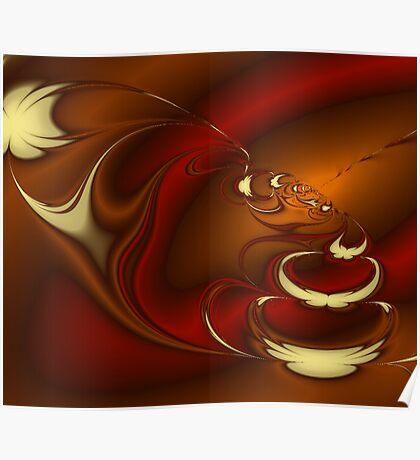 Latte Fractal Poster