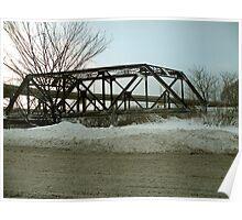 A Bridge in WInter Poster