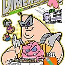 Krang's Dimension Xs Cereal by monsterfink