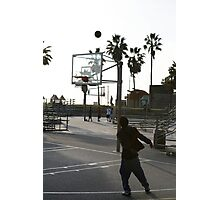hoops Photographic Print