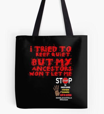 OFFICIAL MERCHANDISE - #SOSBLAKAUSTRALIA design 6 Tote Bag