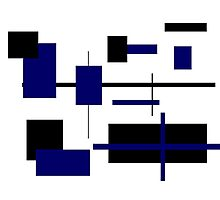 Rectangular Pattern 5 Photographic Print
