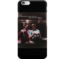 Glee: Sometimes A Man Can't See, When He Has It All iPhone Case/Skin