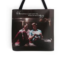 Glee: Sometimes A Man Can't See, When He Has It All Tote Bag