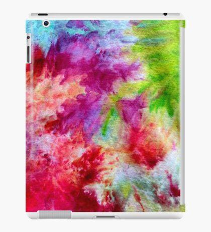 Vibrant ice dye splash iPad Case/Skin