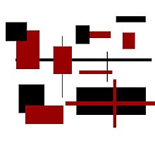 Rectangular Pattern 2 Photographic Print