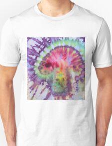 Psychedelic Mushroom tie dye Unisex T-Shirt
