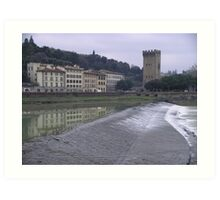The Arnos River, Firenze Art Print