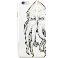 Elder God tentacled face iPhone Case/Skin