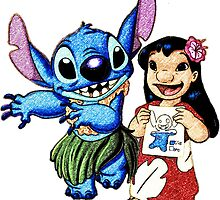 Lilo & Stitch Hula by Iliveinfantasy