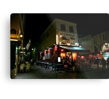 Night Streetscape Metal Print