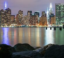 New York Skyline  by David Spector