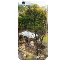 Mayan buildings iPhone Case/Skin