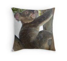 Give Me a Cuddle, Please - I'm Soft Throw Pillow