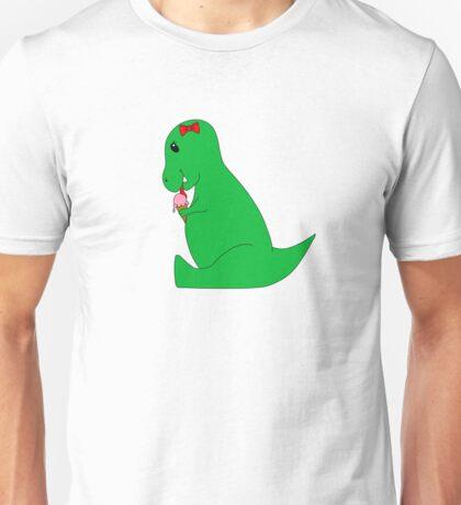 T-Rex Ice Cream Cone Unisex T-Shirt