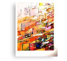 Orange Red Canvas Print