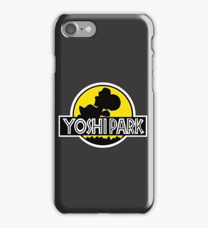 Yoshi's Island Jurassic Park iPhone Case/Skin
