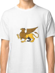 Griiffin Marching Side View Cartoon Classic T-Shirt