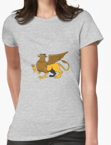 Griiffin Marching Side View Cartoon T-Shirt