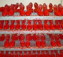 dancers' shoes, Las Vegas  by Robert La Bua