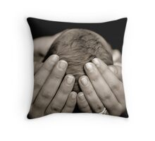 In Safe Hands Throw Pillow