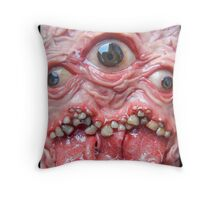 DogzillaLives triclops  Throw Pillow
