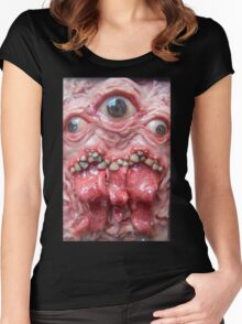 DogzillaLives triclops  Women's Fitted Scoop T-Shirt