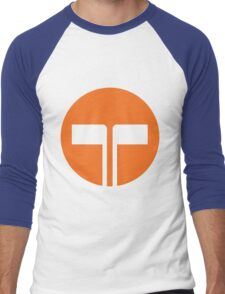 Telecom Men's Baseball ¾ T-Shirt
