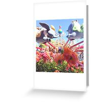 Spring in flight  Greeting Card