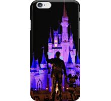 Partners in front of Cinderella Castle iPhone Case/Skin