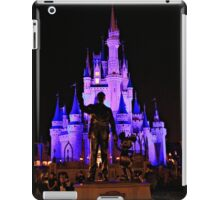 Partners in front of Cinderella Castle iPad Case/Skin