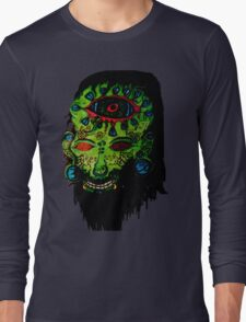 Psychedelic Third Eyed Jesus Long Sleeve T-Shirt