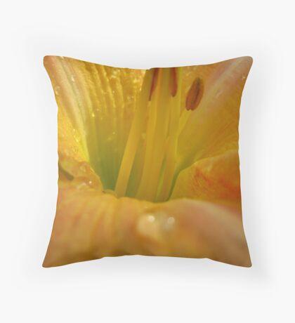 Flower Dew Throw Pillow