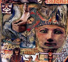 HATSHEPSUT, EGYPTIAN QUEEN COLLAGE by Redlady