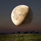 Unreal Moonrise by Chris Cohen