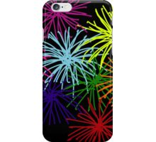 Fireworks by night iPhone Case/Skin