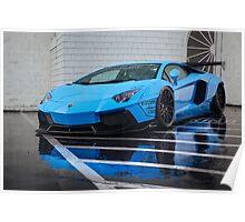 LibertyWalk Lamborghini Aventador Poster